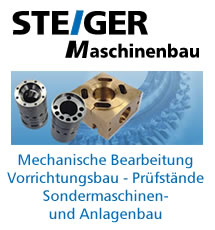 Maschinenbau Steiger - Sondermaschinenbau